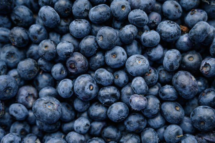 blueberries, they share a terpene with blue weed