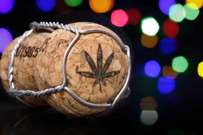 legalization 2.0 in canada brings corks like this, for thc drinks with