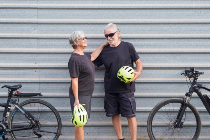 qualifying conditions didn't stop this couple, now they're healthy and out bicycling