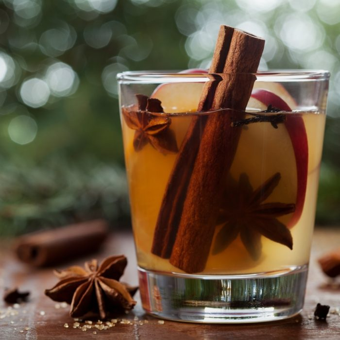 spiced cider infused with cannabis