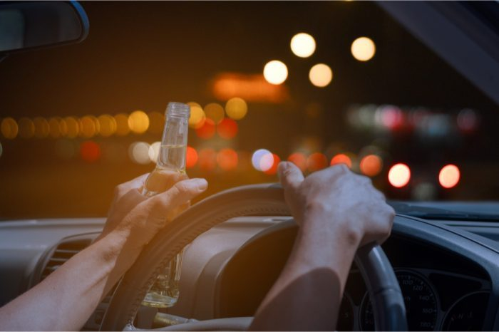 drunk vs high represented by drunk driver image
