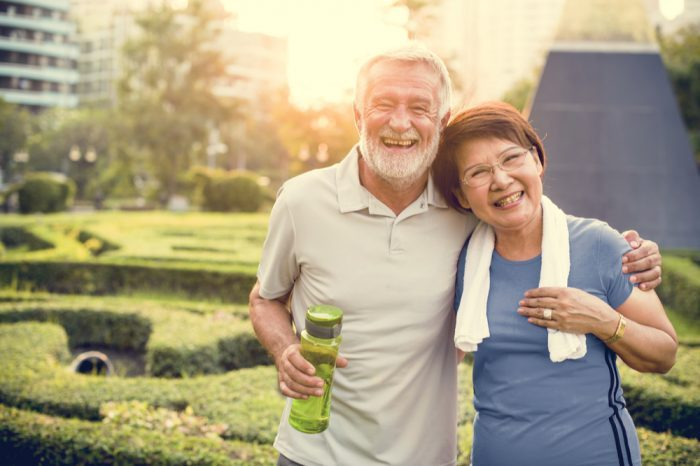 SUPPLEMENTAL HEALTHCARE in the form of cannabis is working well for this older couple