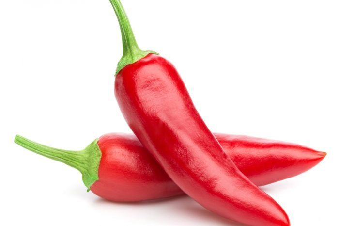 emergency room visits for CHS can maybe be stopepd by eating red peppers