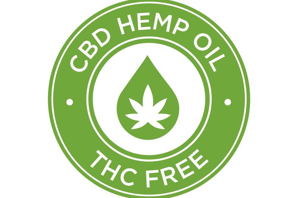 thc free cbd oil logo
