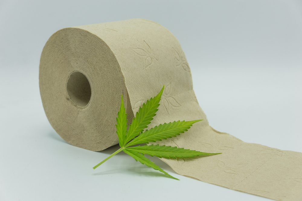 sustainable hemp toilet paper