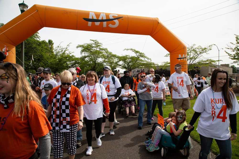 A charity walk for MS. Support is growing for cannabis to enter more clinical trials for MS and other neurological conditions
