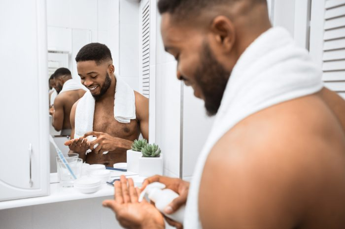 Skin Care for Men Just Revved up with CBD Products