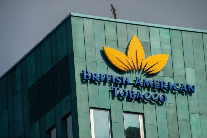 big tobacco and cannabis represented by big tobacco company sign