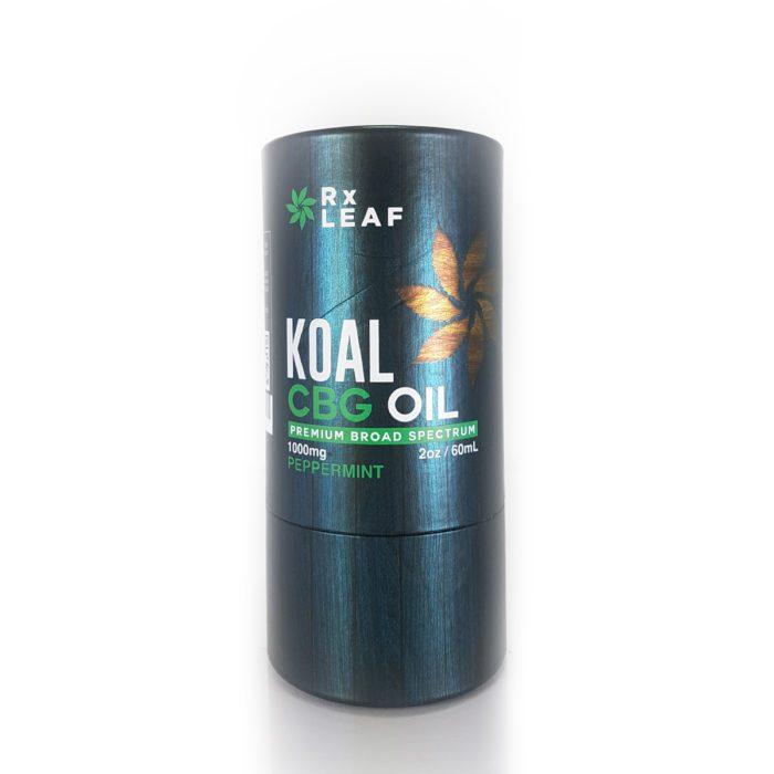 CBG Oil box only by RxLeaf