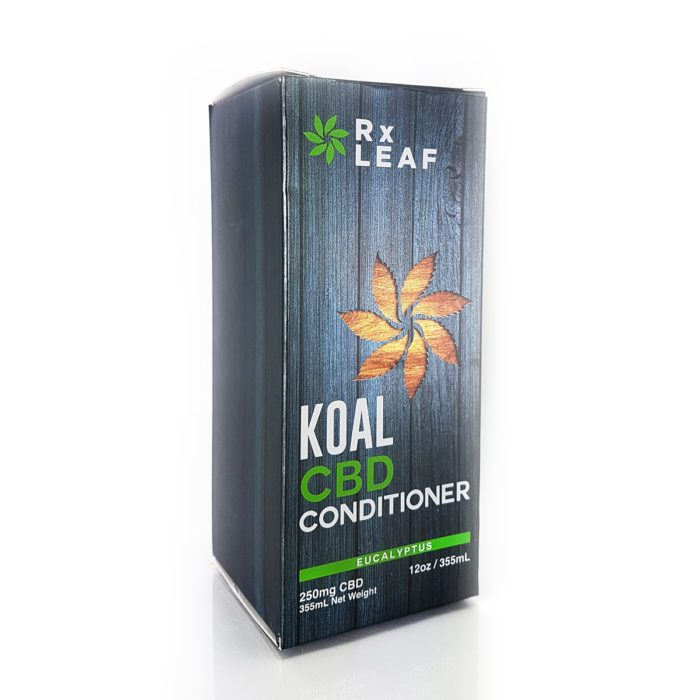 CBD Conditioner box by RxLeaf