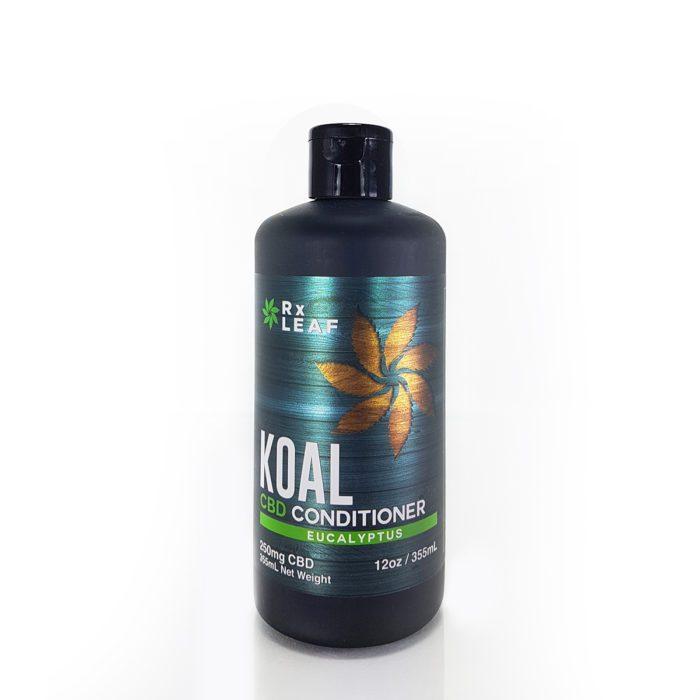 CBD Conditioner bottle from RxLeaf
