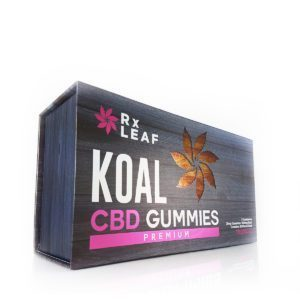 CBD Gummies double pack box only by RxLeaf