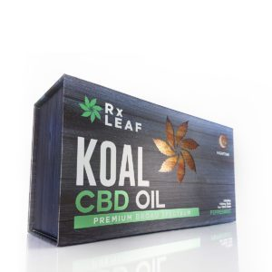 CBD Oil Double box by RxLeaf