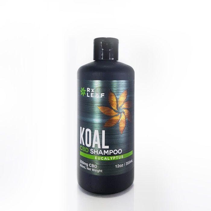 CBD shampoo by RxLeaf bottle
