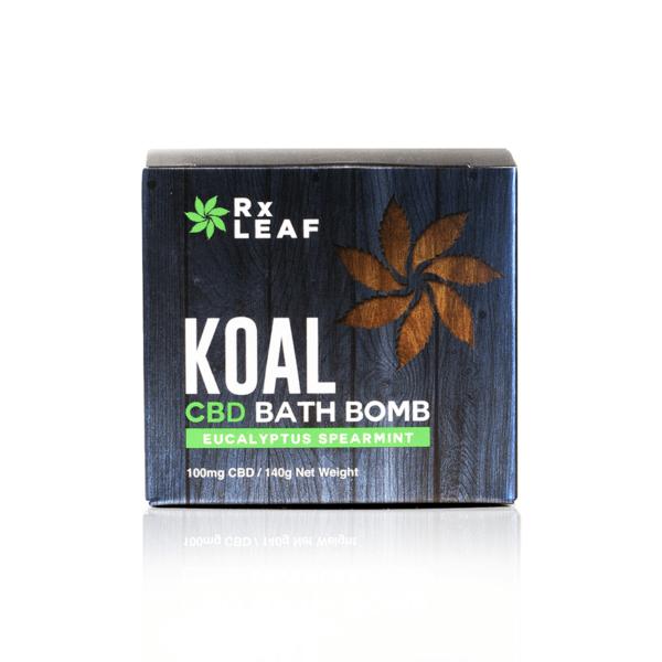 koal cbd bath bomb eucalyptus spearmint