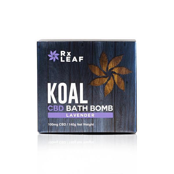 koal cbd bath bomb lavender