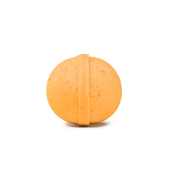 cbd bath bomb orange scented