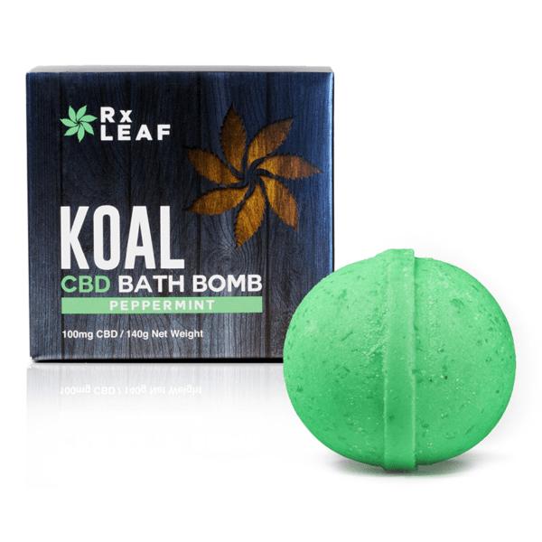 koal cbd bath bomb peppermint power