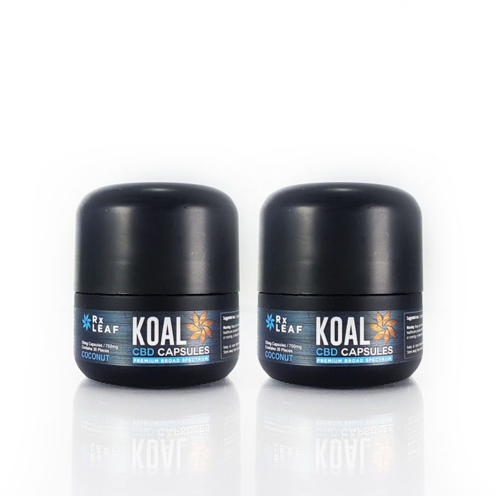 CBD Oil Capsules double pack by RxLeaf