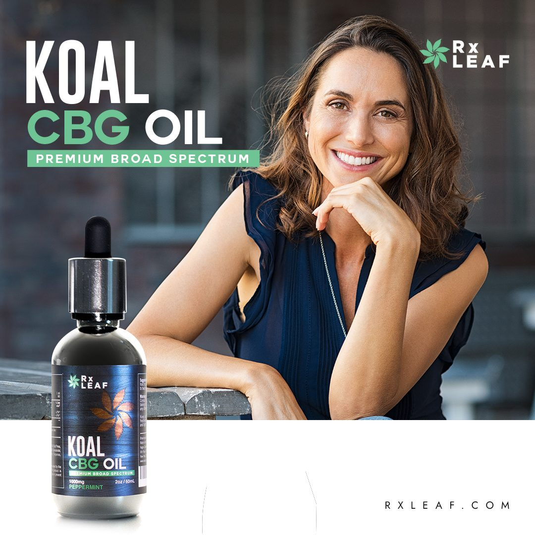 CBG Product placement photo for RxLeaf CBG Oil