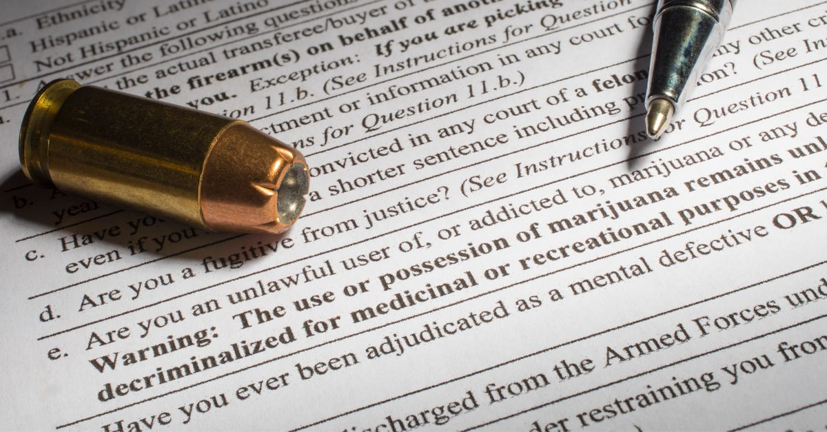 oklahoma gun laws represented by gun ownership papers