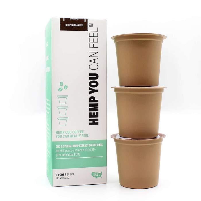 Coffee k cups hemp you can feel Guatemalan