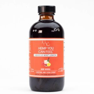 Hibiscus Lemon CBD Cocktail Mixer product photo
