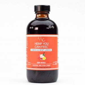 Hibiscus Lemon CBD Cocktail Mixer product photo