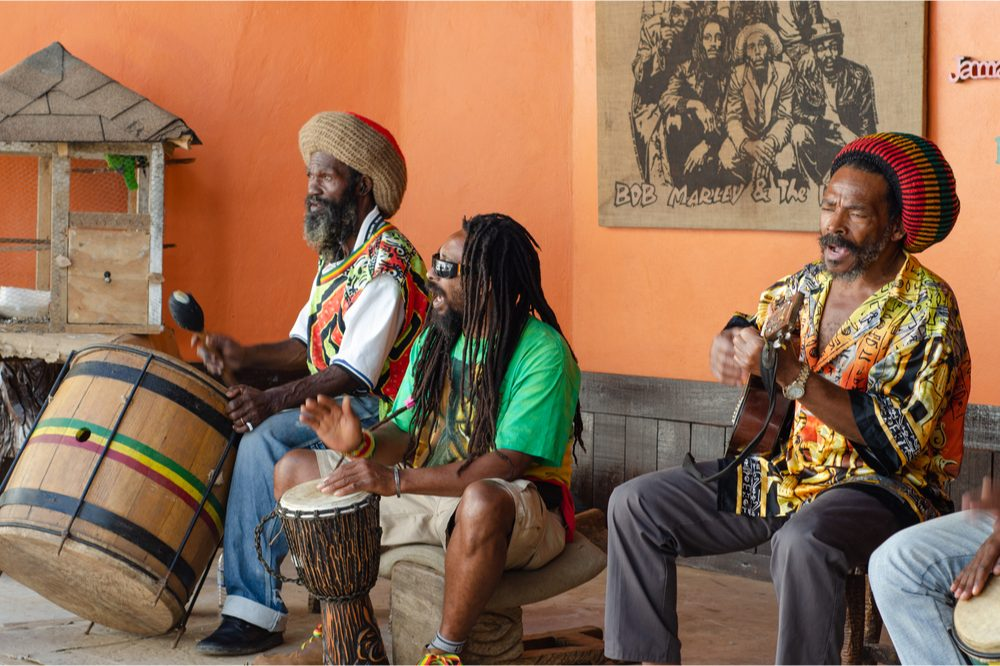 high season represented by jamaican musicians