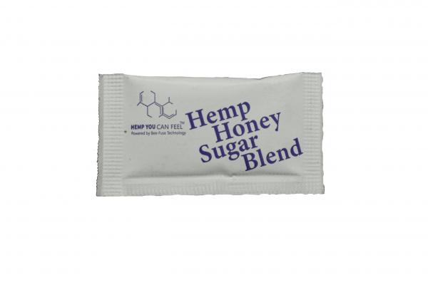 white sugar packet hemp you can feel product photo