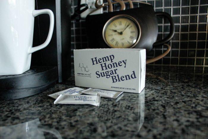 Organic Sugar Packets with Full Spectrum Hemp Honey