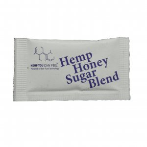 white sugar packet hemp you can feel product photo