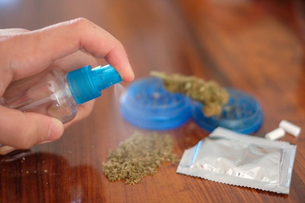chemical spray being applied to synthetic cannabis not a medication for diabetes