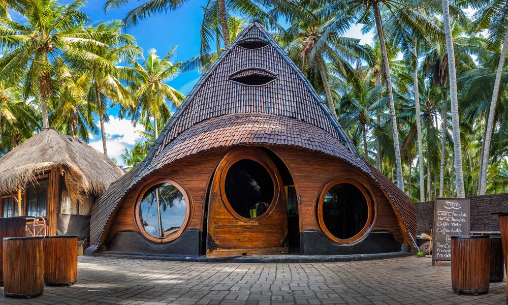 bamboo house represented by unusual bamboo house in Asia